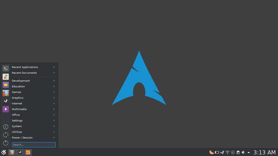 Arch Linux Asennus