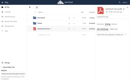 One click install cheap ownCloud VPS